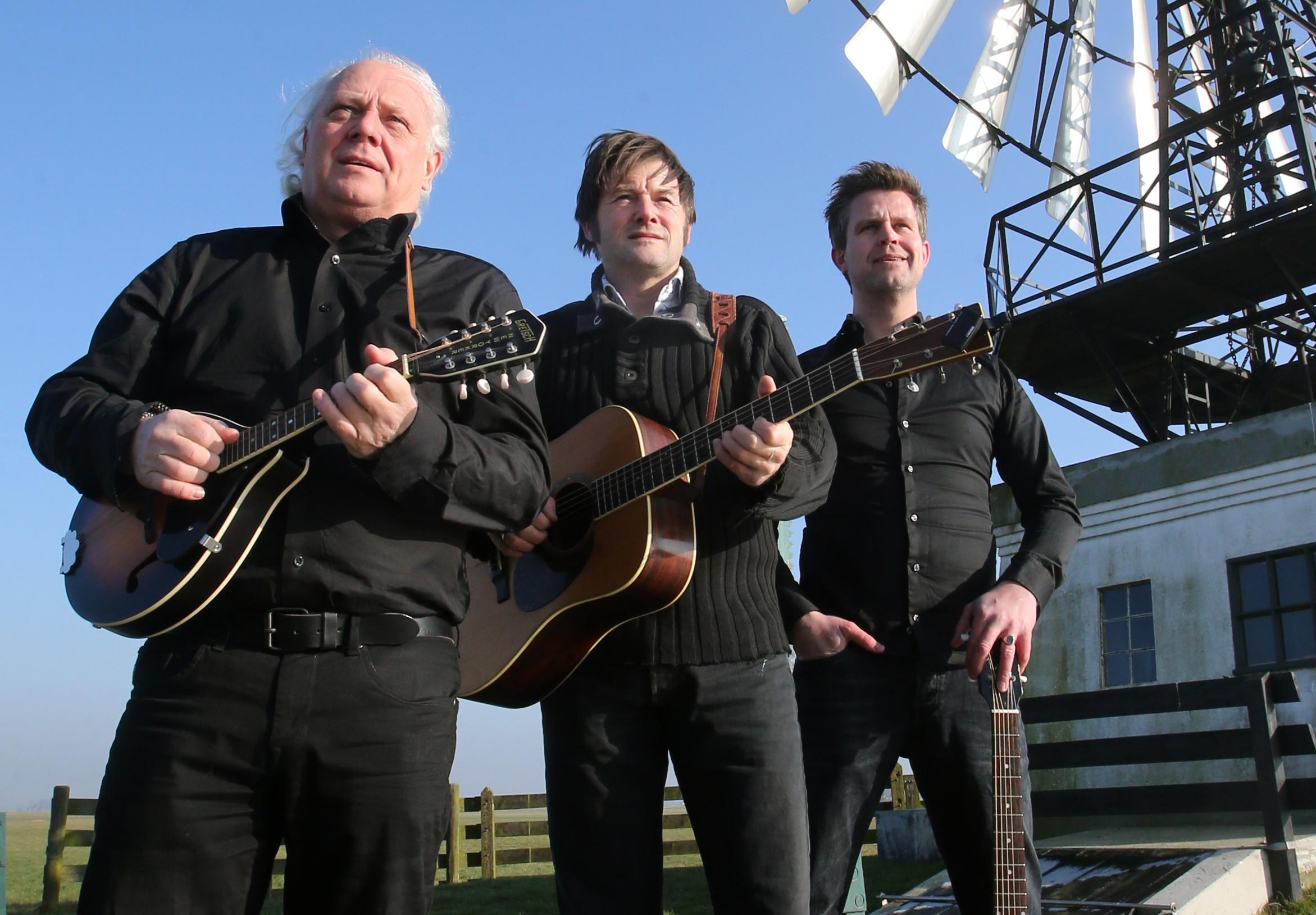 'Frisicana' met Gurbe Douwstra, Marcel Smit en Piter Wilkens