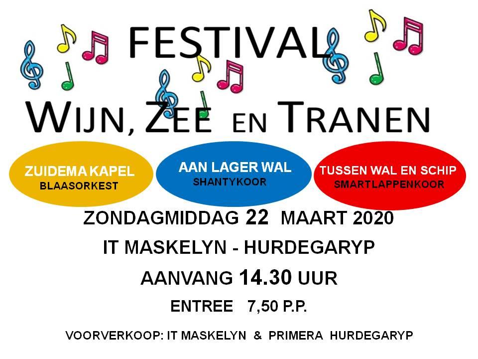 Festival 'Wijn, zee en tranen'