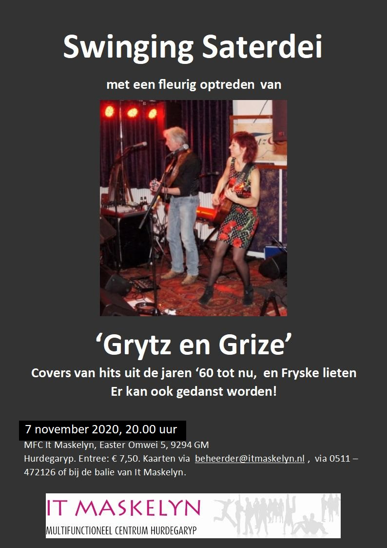 Grytz en Grize op Swinging Saterdei