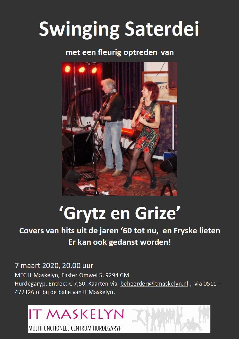 Grytz en Grize op Swinging Saterdei